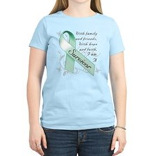 Ovarian Cancer Survivor T-Shirt