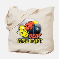 Beat Testicular Cancer Tote Bag