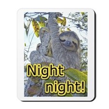 Three-Toed Sloth Mousepad