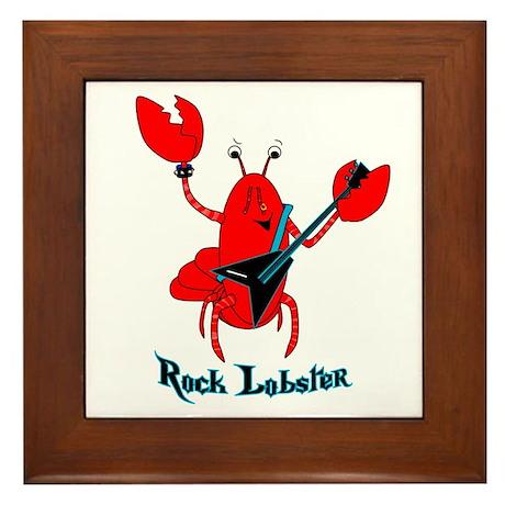 Rock Lobster Framed Tile