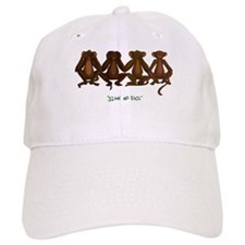 Sign No Evil Baseball Cap