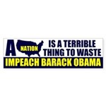 Anti Barack Obama Bumper Sticker (50 pk)