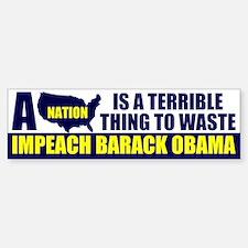 Anti Barack Obama Bumper Bumper Bumper Sticker