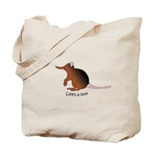 Giant Elephant Shrew Tote Bag