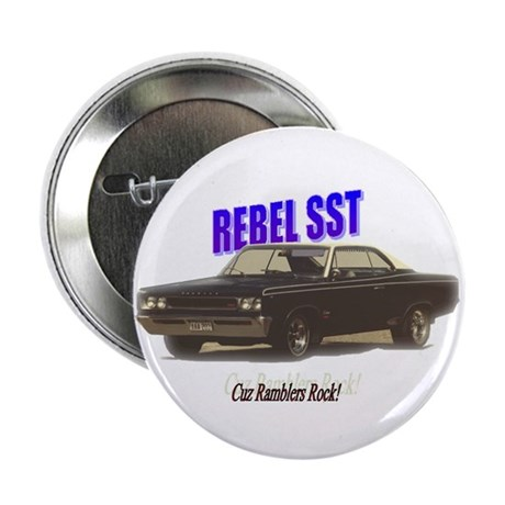 "'67 Rebel SST 2.25"" Button"