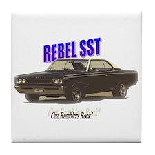 '67 Rebel SST Tile Coaster