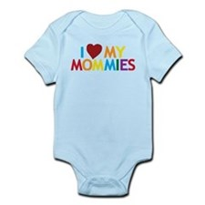 I Love My Mommies Onesie