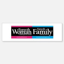 Forsyth Woman & Forsyth Family Bumper Bumper Sticker