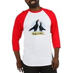 Shamo Rooster and Hen Baseball Jersey