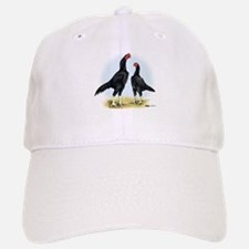 Shamo Rooster and Hen Cap