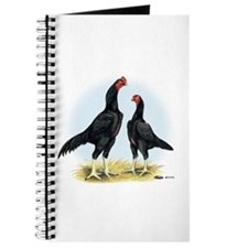 Shamo Rooster and Hen Journal