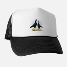 Shamo Rooster and Hen Hat