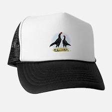 Shamo Rooster and Hen Trucker Hat