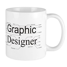 Graphic Designer Small Mug