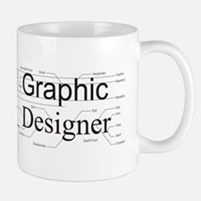 Graphic Designer Small Mugs