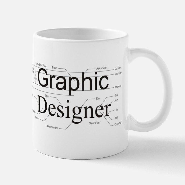 Graphic Designer Small Small Mug
