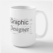 Graphic Designer Ceramic Mugs