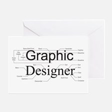 Graphic Designer Greeting Card