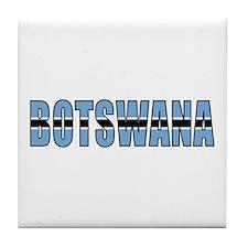 Botswana Tile Coaster