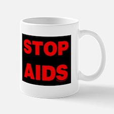 Stop AIDS Mug