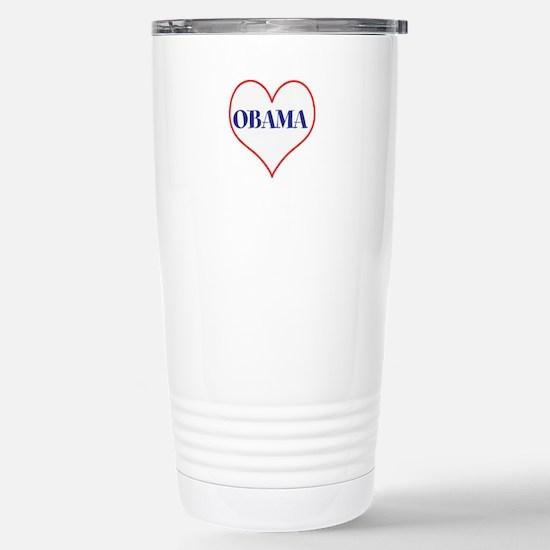 I love Obama Travel Mug