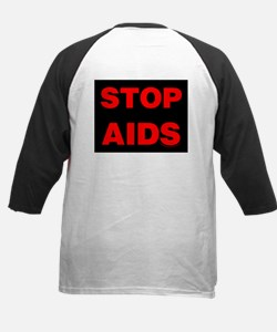 Stop AIDS Kids Baseball Jersey