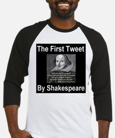 The First Tweet By William Sh Baseball Jersey