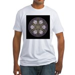 Stone Wall V Fitted T-Shirt