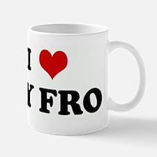 I Love MY FRO Mug