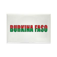 Burkina Faso Rectangle Magnet (10 pack)