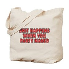 Party Naked Tote Bag