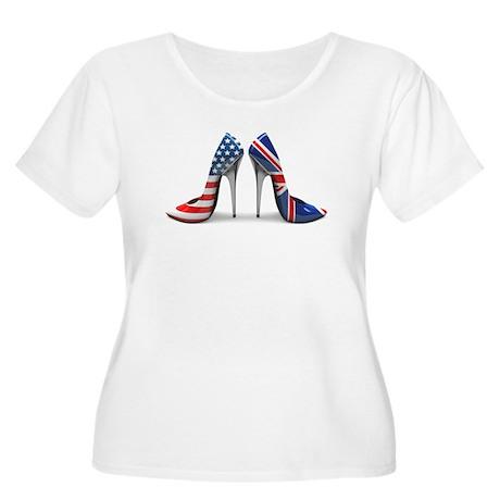 Heels Women's Plus Size Scoop Neck T-Shirt