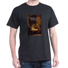 Christmas Gifts: Nietzsche  Black T-Shirt