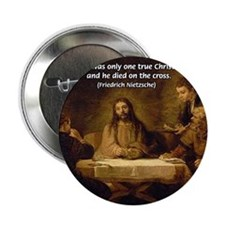 Christmas Gifts: Nietzsche Button