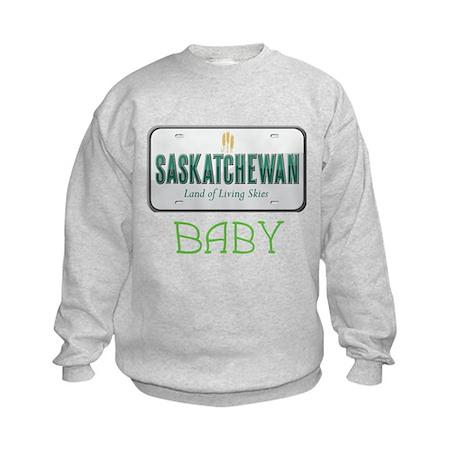 Saskatchewan Baby Kids Sweatshirt