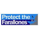 Protect the Farallon Islands bumper sticker