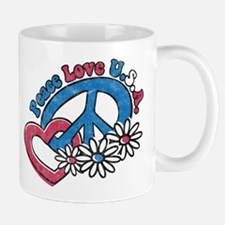 Peace Love USA Mug