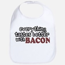 Tastes Better with Bacon Bib
