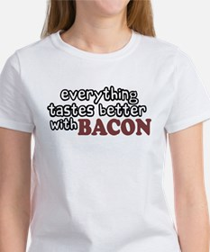 Tastes Better with Bacon Women's T-Shirt