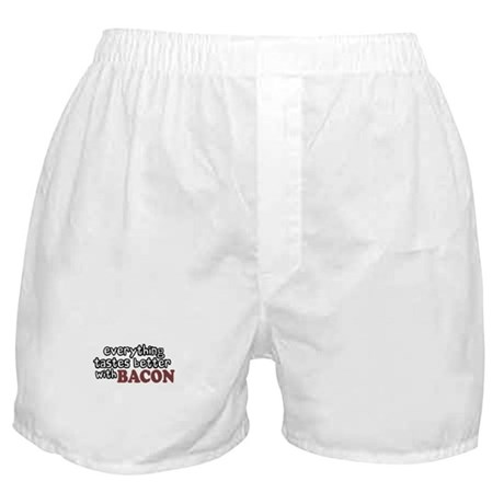 Tastes Better with Bacon Boxer Shorts