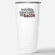 Tastes Better with Bacon Travel Mug
