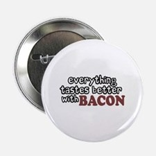 """Tastes Better with Bacon 2.25"""" Button (10 pack)"""