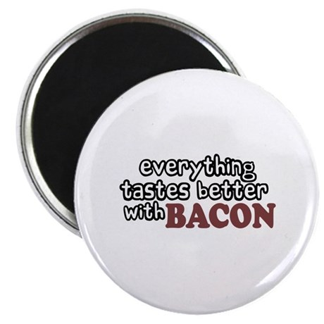 """Tastes Better with Bacon 2.25"""" Magnet (10 pack)"""