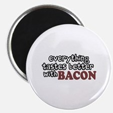 "Tastes Better with Bacon 2.25"" Magnet (10 pack)"
