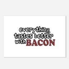 Tastes Better with Bacon Postcards (Package of 8)