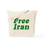 Free Iran Tote Bag