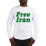 Free Iran Long Sleeve T-Shirt