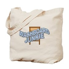 Washboard Junkie Tote Bag
