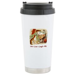 Live Love Laugh Play Travel Mug