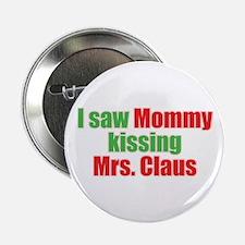 Gay Christmas Button